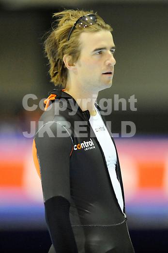 HEERENVEEN - Schaatsen,IJstadion Tialf,  NK afstanden,  500 meter heren seizoen 2011-2012 , 05-11-2011 Mark Tuitert