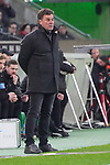 15.03.2019, Borussia Park , Moenchengladbach, GER, 1. FBL,  Borussia Moenchengladbach vs. SC Freiburg,<br />  <br /> DFL regulations prohibit any use of photographs as image sequences and/or quasi-video<br /> <br /> im Bild / picture shows: <br /> Dieter Hecking Trainer/Headcoach (Gladbach), <br /> <br /> Foto &copy; nordphoto / Meuter