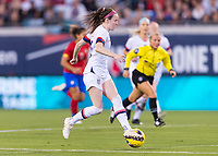 , FL - : Rose Lavelle #16 of the United States dribbles during a game between  at  on ,  in , Florida.