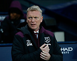 David Moyes manager of West Ham United during the premier league match at the Etihad Stadium, Manchester. Picture date 3rd December 2017. Picture credit should read: Andrew Yates/Sportimage
