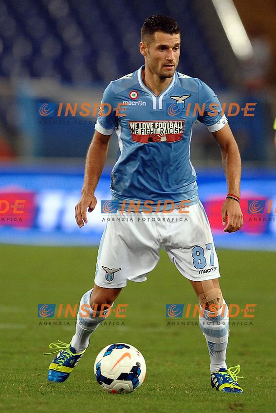 Antonio Candreva Lazio.<br /> Roma 25/08/2013 Stadio Olimpico<br /> Football Calcio 2013/2014 Serie A<br /> Lazio vs Udinese<br /> Foto Antonietta Baldassarre Insidefoto
