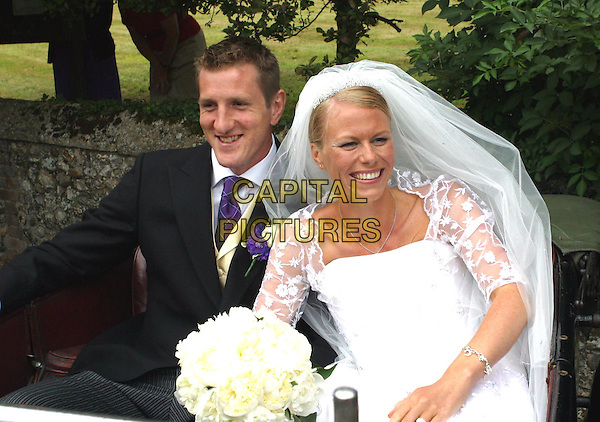 WILL GREENWOOD & CAROLINE TASKER.England Rugby stars wedding, Thorham, Norfolk.www.capitalpictures.com.sales@capitalpictures.com.© Capital Pictures.