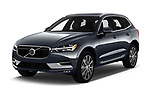 2020 Volvo XC60 Inscription 5 Door SUV Angular Front automotive stock photos of front three quarter view