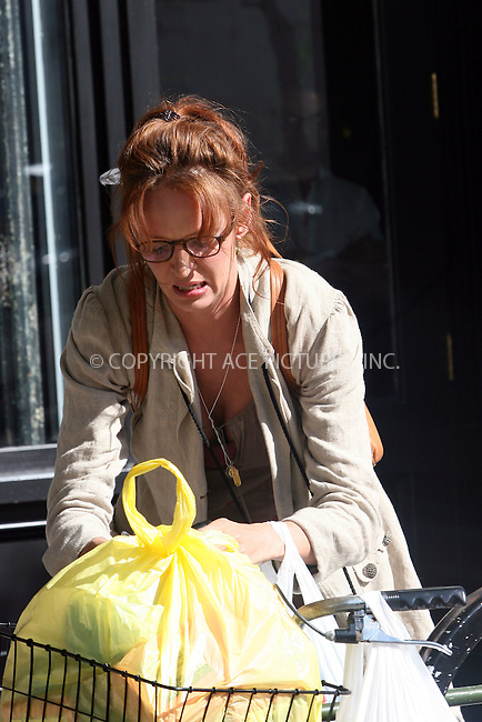 WWW.ACEPIXS.COM . . . . .  ....May 28 2008, New York City....Actress Uma Thurman was on the set of her new movie 'Motherhood' in Chelsea.....Please byline: NANCY RIVERA- ACE PICTURES.... *** ***..Ace Pictures, Inc:  ..tel: (646) 769 0430..e-mail: info@acepixs.com..web: http://www.acepixs.com