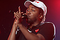 Kendrick Lamar is seen performing at 2015 Essence Music Festival Concert at Superdome on Sunday, July 5, 2015 in New Orleans, LA. (Photo by Donald Traill/Invision/AP)