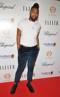MNEK (Uzoechi &quot;Uzo&quot; Emenike) at the Lux Afrique gala dinner, Claridge's Hotel, Brook Street, London, England, UK, on Sunday 01 October 2017.<br /> CAP/CAN<br /> &copy;CAN/Capital Pictures
