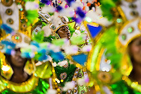 Dancers of Imperio da Tijuca samba school perform during the Carnival Access Group parade at the Sambadrome in Rio de Janeiro, Brazil, 19 February 2012. The Carnival in Rio de Janeiro, considered the biggest carnival in the world, is a colorful, four day celebration, taking place every year forty days before Easter. The Samba school parades, featuring thousands of dancers, imaginative costumes and elaborate floats, are held on the Sambadrome, a purpose-built stadium in downtown Rio. According to costumes, flow, theme, band music quality and performance, a single school is declared the winner of the competition.