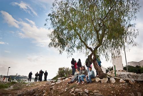 enfants et soldats à jerusalem est