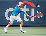 Lleyton Hewitt (Aus) loses to Ryan Harrison (USA) 6-3, 7-5 at the CitiOpen 2013 in Washington, D.C., Washington, D.C.  District of Columbia on July 30, 2013.