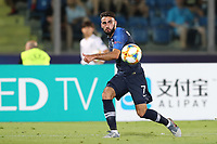 Roman Del Castillo of France in action<br /> Serravalle 21-06-2019 Stadio San Marino Stadium <br /> Football UEFA Under 21 Championship Italy 2019<br /> Group Stage - Final Tournament Group C<br /> France - Croatia<br /> Photo Cesare Purini / Insidefoto