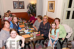 Supporting the Thrashing Cancer bingo night in The Manor Inn, Killorglin on Friday.<br /> L-R Around the tableAva Diggin, Geraldine O'Sullivan, Kerry O'Connor, Ann Murphy, Bernie Murphy, Pauline O'Connor, Nina &amp; Marie Diggin.