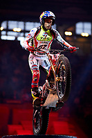 2nd February 2020; Palau Sant Jordi, Barcelona, Catalonia, Spain; X Trail Mountain Biking Championships; Adam Raga (Spain) of the TRRS Team in action during the X-Trail indoor Barcelona