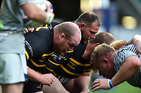Matt Bollard of Cornwall in action at a scrum. Bill Beaumont County Championship Division 1 Final between Cheshire and Cornwall on June 2, 2019 at Twickenham Stadium in London, England. Photo by: Patrick Khachfe / Onside Images