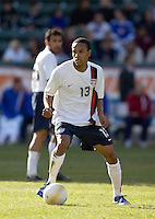 Ricardo Clark looks to pass. The USA defeated Denmark 3-1 in an International friendly at the Home Depot Center in Carson, CA on January 20, 2007.