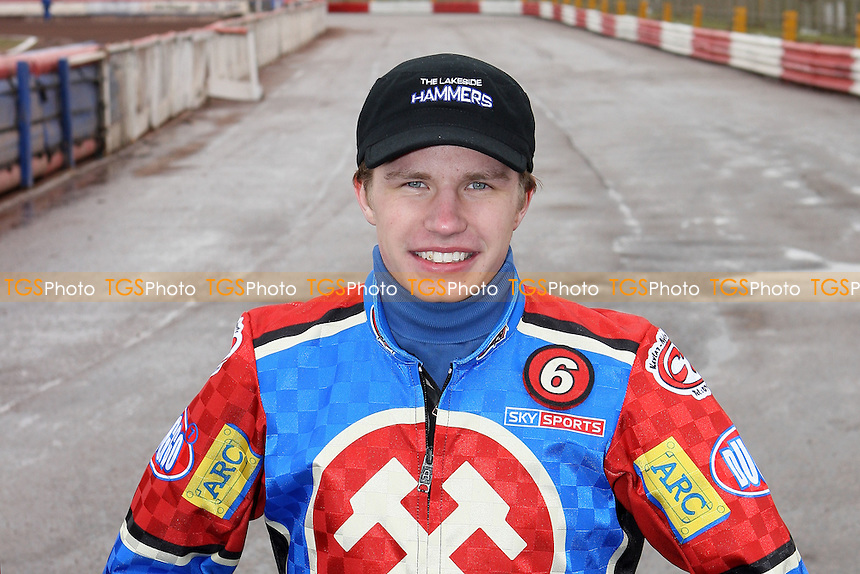 Ricky Kling of Lakeside - Lakeside Hammers Press & Practice Day at Arena Essex Raceway - 11/03/08 - MANDATORY CREDIT: Gavin Ellis/TGSPHOTO. Self-Billing applies where appropriate. NO UNPAID USE. Tel: 0845 094 6026