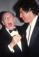 #MiltonBerle #ElliottGould 1989<br /> Photo By Adam Scull/PHOTOlink.net