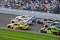 Brian Scott (#11), Reed Sorenson (#52), Josh Wise (#40), Robert Richardson, Jr. (#23), Kenny Wallace (#09) and Casey Roderic (#08)