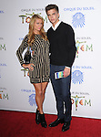 Paris Hilton and River Viiperi attends Totem from Cirque du Soleil Premiere at Santa Monica Pier in Santa Monica, California on January 21,2014                                                                               © 2014 Hollywood Press Agency