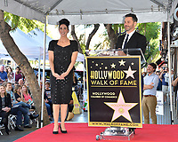 LOS ANGELES, CA. November 09, 2018: Sarah Silverman & Jimmy Kimmel at the Hollywood Walk of Fame Star Ceremony honoring comedian Sarah Silverman.<br /> Pictures: Paul Smith/Featureflash