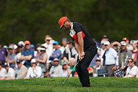 Lucas Bjerregaard (DEN) on the 13th green during the final round at the PGA Championship 2019, Beth Page Black, New York, USA. 20/05/2019.<br /> Picture Fran Caffrey / Golffile.ie<br /> <br /> All photo usage must carry mandatory copyright credit (© Golffile | Fran Caffrey)