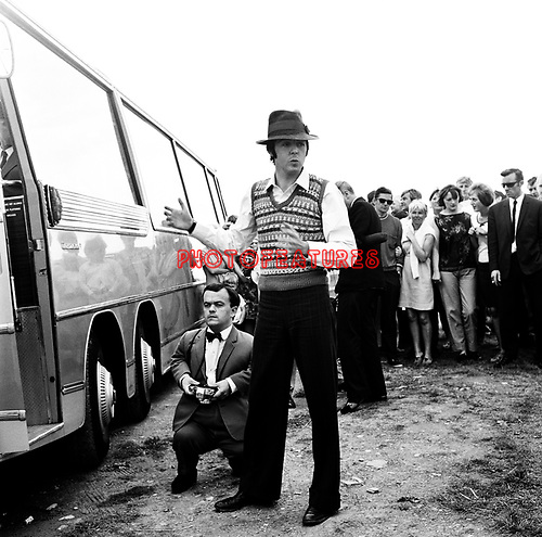 Beatles 1967 Paul McCartney at start of Magical Mystery Tour