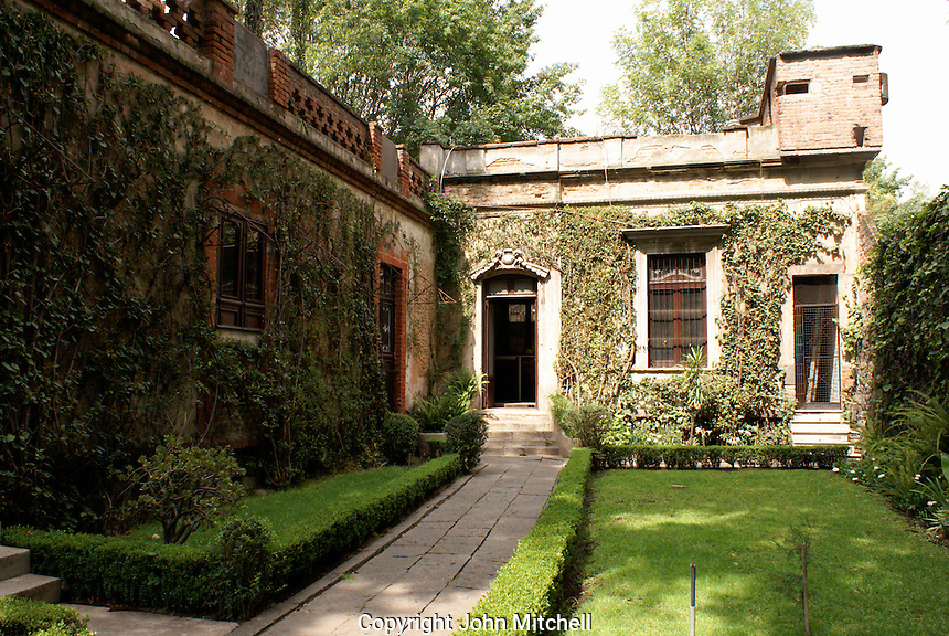 The Museo Casa de Leon Trotsky or Leon Trotsky House Museum in Coyoacan, Mexico City