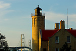 Old Mackinac Point Light house, Mackinaw City michigan