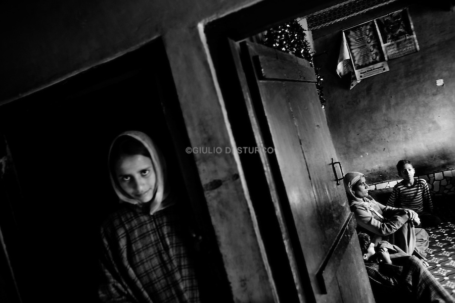 Zahida and Abdul Rashid Lone, mother and father of Mohammed Shefi Lone( 19 ). The Indian military have killed him during a fake encounter in Machild area near the Line of Control machild, 14 November, 2010..they found his body in a mass grave close to the line of control