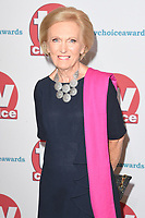 Mary Berry<br /> arriving for the TV Choice Awards 2017 at The Dorchester Hotel, London. <br /> <br /> <br /> &copy;Ash Knotek  D3303  04/09/2017