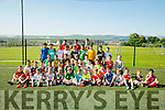 Under 10's  enjoying the St Brendan's Park FC Summer camp on Tuesday