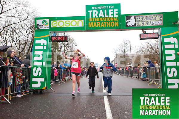 Michelle Greaney 136, who took part in the Kerry's Eye Tralee International Marathon on Sunday 16th March 2014.