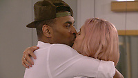 Ginuwine and Ashley James.<br /> Celebrity Big Brother 2018 - Day 30<br /> *Editorial Use Only*<br /> CAP/KFS<br /> Image supplied by Capital Pictures