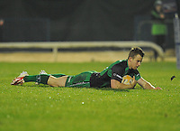 23rd November 2013; Rabodirect Pro12, Connacht v Scarlets, Sportsground, Galway. Picture credit: Tommy Grealy/actionshots.ie.