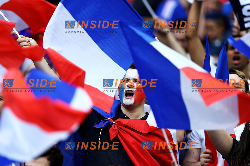 Tifosi Francia. France Supporters<br /> Paris 10-06-2016 Stade de France football Euro2016 France - Romania  / Francia - Romania Group Stage Group A. Foto Matteo Ciambelli / Insidefoto