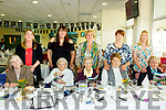 Residents and Carers from Lystoll Lodge Nursing Home Listowel having their first ever day at the Listowel races on Tuesday. Front L-r Ann Stancliff, Joanna Wadkins, Mary Scully, Kay McGrath and Mary O'Keeffe. Back L-r Trish Sheehan, Mags Fuller, Bridie Buckley Teresa Harrington and Irene Coleman
