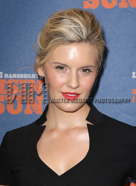 Maggie Grace attending the Broadway Opening Night Performance of 'A Raisin In The Sun'  at the Barrymore Theatre on April 3, 2014 in New York City.