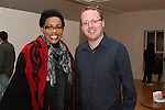 Kenya Ambassador Catherine Muigai Mwangi with Ian Watters at the Reception for the Kenyan Ambassador to Ireland in the Droichead Arts Centre...(Photo credit should read Jenny Matthews www.newsfile.ie)....This Picture has been sent you under the condtions enclosed by:.Newsfile Ltd..The Studio,.Millmount Abbey,.Drogheda,.Co Meath..Ireland..Tel: +353(0)41-9871240.Fax: +353(0)41-9871260.GSM: +353(0)86-2500958.email: pictures@newsfile.ie.www.newsfile.ie.