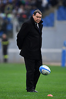 Steve Hansen, coach All Blacks.<br /> Roma 24-11-2018  Stadio Olimpico,<br /> Rugby Cattolica Test Match 2018<br /> Italia vs Nuova Zealanda / Italy vs New Zealand <br /> Photo Antonietta Baldassarre / Insidefoto