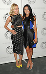 Diane Kruger and Emily Rios arriving at The Bridge: Season Two Premiere Screening' held at The Paley Center for Media Beverly Hills, CA. June 24, 2014.