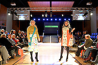 Tishrei Designs by Tracey Tishrei, New Zealand Eco Fashion Exposed Maintain &amp; Sustain at Notre Dame Performing Arts Centre, Lower Hutt, New Zealand on Friday 25 July 2014. <br />