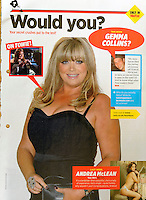 Nuts Magazine<br /> Gemma Collins by CJ<br /> 41121<br /> tearsheet