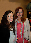 """Jacklyn Zeman """"Bobbie Spencer"""" - General Hospital poses with fan Jacklyn as they help raise money for Leukemia and Cancer Research. (Photo by Sue Coflin/Max Photos)"""