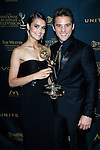 LOS ANGELES - May 1: True O'Brien, Casey Moss at The 43rd Daytime Emmy Awards Gala at the Westin Bonaventure Hotel on May 1, 2016 in Los Angeles, California