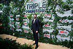 Oscar Isaac attends to Triple Frontera premiere at Callao City Lights in Madrid, Spain. March 06, 2019. (ALTERPHOTOS/A. Perez Meca)