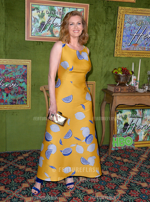 """LOS ANGELES, CA. October 04, 2018: Mireille Enos at the Los Angeles premiere for """"My Dinner With Herve"""" at Paramount Studios.<br /> Picture: Paul Smith/Featureflash"""
