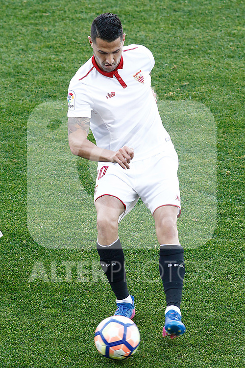 Sevilla FC's Vitolo during La Liga match. March 19,2017. (ALTERPHOTOS/Acero)