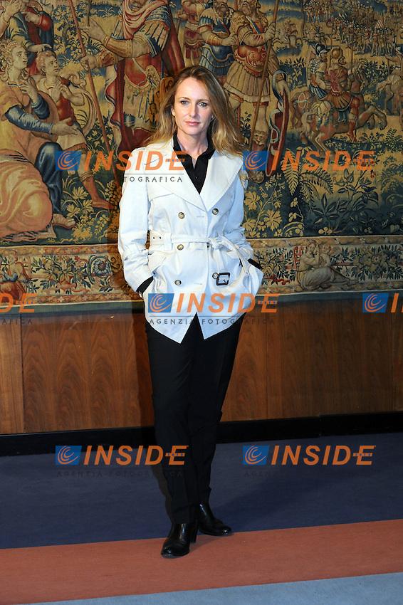 Marialuisa Busi presenta la sua trasmissione su raitre, ARTICOLOTRE. il venerdì in prima serata...Roma, 13 Ottobre 2010..Photo GB/Insidefoto