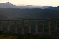 Ouro Branco_MG, Brasil...Vista panoramica de uma paisagem em Ouro Branco...The panoramic view of the landscape in Ouro Branco...Foto: LEO DRUMOND /  NITRO