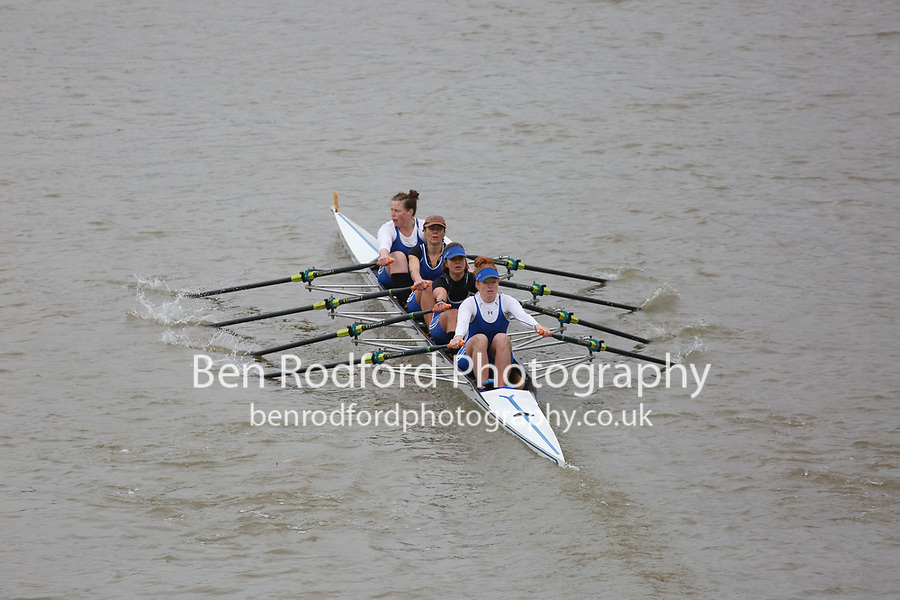 Crew: 143   Barnes Bridge Ladies (Stackhouse)   WB 4x<br /> <br /> Veteran Fours Head 2017<br /> <br /> To purchase this photo, or to see pricing information for Prints and Downloads, click the blue 'Add to Cart' button at the top-right of the page.
