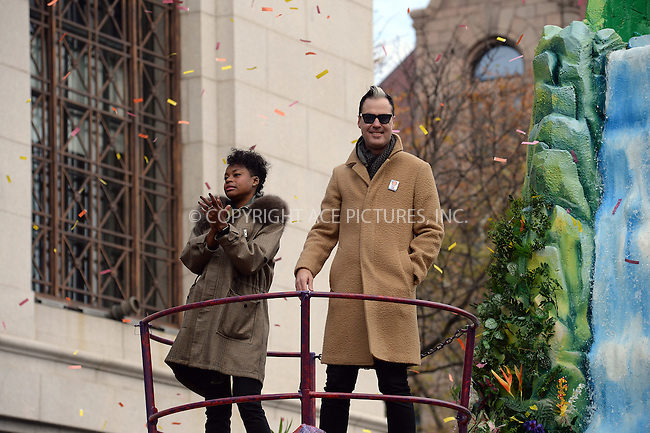 www.acepixs.com<br /> <br /> November 24 2016, New York City<br /> <br /> Fitz and the Tantrums made an appearance at the 90th Annual Macy's Thanksgiving Day Parade on November 24, 2016 in New York City.<br /> <br /> By Line: Kristin Callahan/ACE Pictures<br /> <br /> <br /> ACE Pictures Inc<br /> Tel: 6467670430<br /> Email: info@acepixs.com<br /> www.acepixs.com